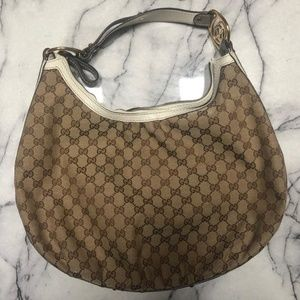 Gucci Interlocking Medium Hobo Bag